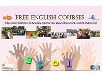 *Free ESOL classes