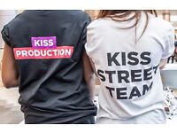 KISS Street Team – Brand Ambassadors
