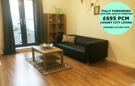 BRAND NEW PENT HOUSE APARTMENT - AVAILABLE 1ST MAY - from £595 PCM - CITY CENTRE