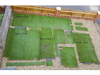 Artificial Grass - Various Size Pieces - See photo - £75