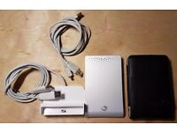 Seagate External Hard Drive Enclosure - empty or with 1tb hard drive