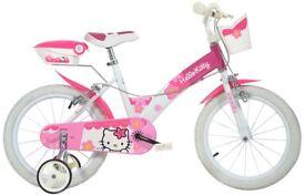 Dino Bikes 156N-HK 16-Inch Hello Kitty Bicycle