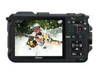 Nikon AW100 Waterproof Full HD 1080p Video (Black)