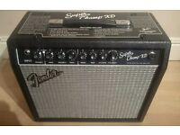 Fender Super Champ XD 15 Watt Valve Guitar Amp with Digital Effects - Owner's Manual Included