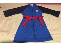 boy Thomas dressing gown 6-7years