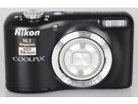 Nikon Coolpix L29 Camera in perfect condition complete with case