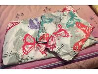 Double Bedding Set Brand New Without Packaging - Contains Quilt Cover & 2 Pillowcases
