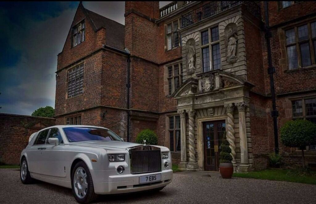 limo hire Wedding Car Hire limousines Birmingham Car Hire Phantom RR ...