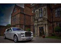 limo hire Wedding Car Hire limousines Birmingham Car Hire Phantom RR Phantom Prestige cars