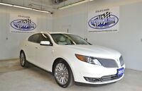 2013 Lincoln MKS **NAV/AWD/LEATHER/CHROMES**