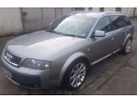 Audi A6 All Road For Sale £3995 MOT'd to October 2017