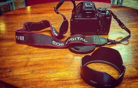 Canon 600D with 18-55mm IS II