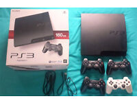 Playstation 3 + Games Bundle!