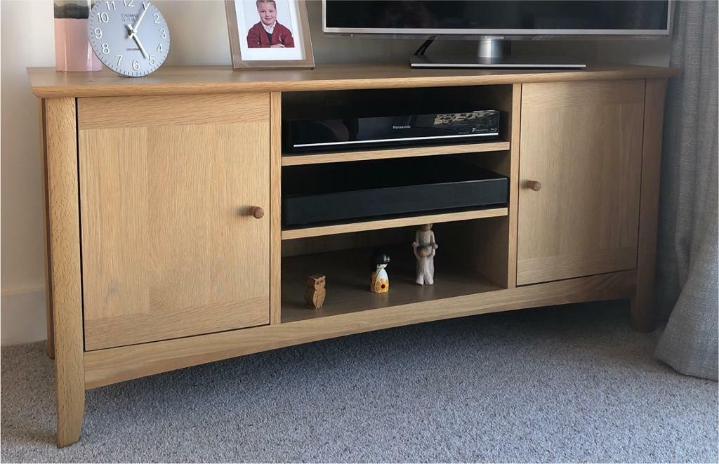 newest 736e9 ee817 John Lewis Alba Oak TV Stand | in Emersons Green, Bristol | Gumtree