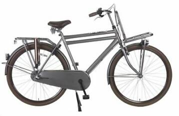 Popal Daily Dutch Basic+ Titanium Transportfiets 28 inch