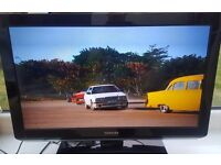 """Toshiba 26"""" TV with integrated DVD Player"""