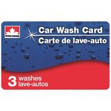 Petro-Canada Car Wash Card with 3 SuperWorks Washes!