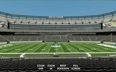 3X New York Football Giants Psls   Section 139  Field 50 Yd Line    Parking Pass