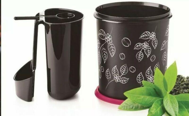 Tupperware Coffee Station Black & Vineyard NEW Kitchen Organization Storage Prep