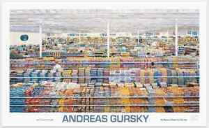 99 Cent by Andreas Gursky Photo Art Print - Original 2001 MOMA Poster 56x34