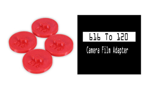 616 to 120 Film spool camera Adapter Set Kodak Canon Nikon