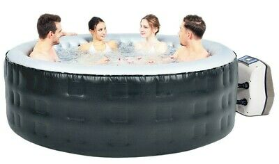 Avenli Air Jet 4-6 Person Outdoor Chill Spa Inflatable Hot Tub + Digital Display