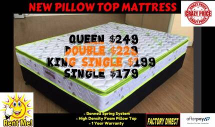 MATTRESS SALE *NEW PILLOWTOP MATTRESS FROM $179 *Free Delivery*