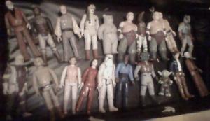 19 Vintage Star Wars Action Figures