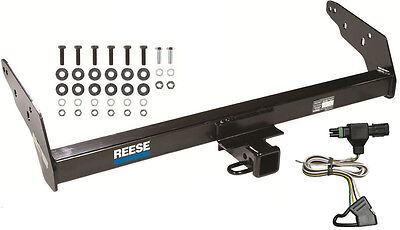 TRAILER HITCH W/ WIRING KIT FITS 1985-1997 CHEVY S10 & 1985-1990 GMC S15 CLASS 3