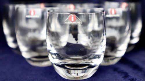 6 iittala, Nana, Tumblers, Glasses, Mikko Karppanen, Iittala, Finland 125ml