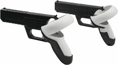 Pistol Gun Grip Case Cover For Oculus Quest 2 VR Controllers for Shooting Games