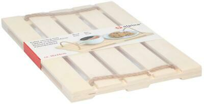 Tray wooden pallet 36x24x2cm strong