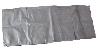 Four large, polypropylene sacks (56