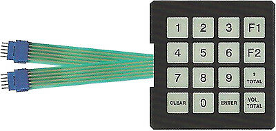 Gilbarco T17549-g1 Programmable Manager Membrane Switch Keypad