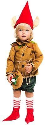 Italian Made Baby & Older Boys Medieval Elf Halloween Fancy Dress Costume Outfit (Older Boy Halloween Costumes)