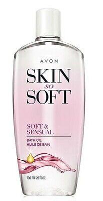 Avon Skin So Soft Bath oil 25 oz Bonus Size Soft and Sensual (Avon Skin So Soft Soft And Sensual)