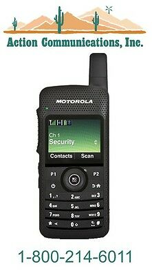 New Motorola Sl7550 Uhf 450-512 Mhz 2 Watt 1000 Channel Two Way Radio