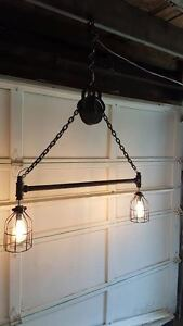 LED Hanging Pulley Light
