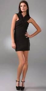Camilla & Marc Congo Black dress Size 10 Mini dress with cutouts Crows Nest North Sydney Area Preview