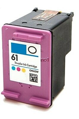 #61 Color Ink For HP Deskjet 2510 2514 2540 2541 2542 2543 2544 3510 3512 3516 ()