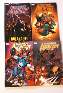 The New Avengers (Series 1) volumes 1, 2, 3, 4