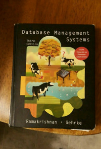 Database management systems, third edition