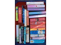 Mixed box of fiction novels