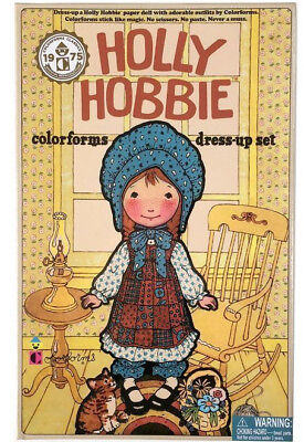 HOLLY HOBBIE Colorforms Dress-Up Set 2017 Official Reproduction of vtg 1975 NIB