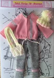 Dolls Clothes: Ski Trip Outfit - Suits Barbie type doll NEW Greenwood Joondalup Area Preview