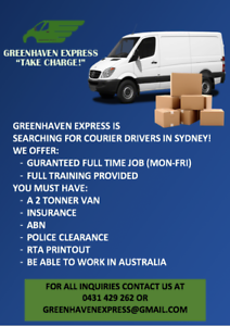 HIRING A COURIER DRIVERS