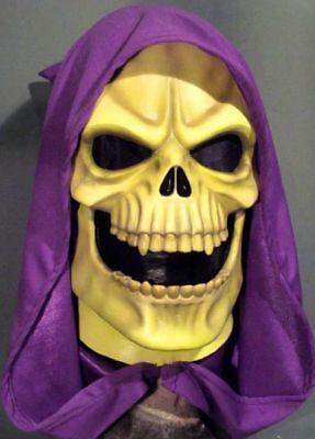 SKELETOR LATEX MASK -- He Man Costume Prop He-Man Cosplay Motu Halloween !!!!