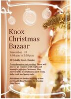 Christmas Bazaar - Knox Presbyterian Church, Dundas
