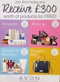 Join Avon Get £300 FREE Gifts