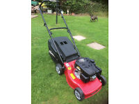 Mountfield 140CC SP petrol lawn mower, as new with warranty